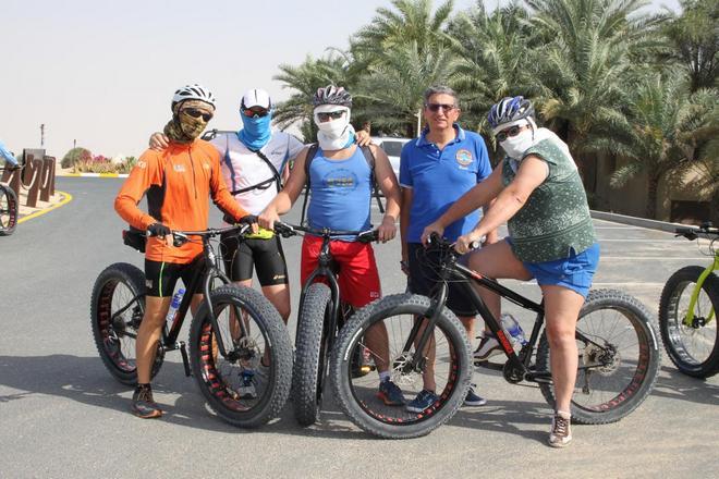 Non solo gare … Maratone, fat byke, lavori in corso, corse e cene nel deserto …